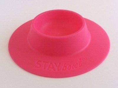 STAYbowl™ tip-proof bowl (PINK)