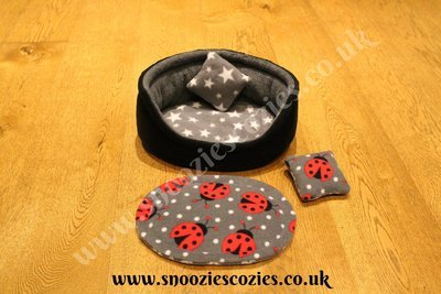 Three Way Snoozie Nest Custom Order