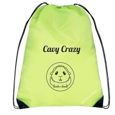 GUINEA PIG DRAWSTRING BAG - Cavy Crazy FREE UK P&P