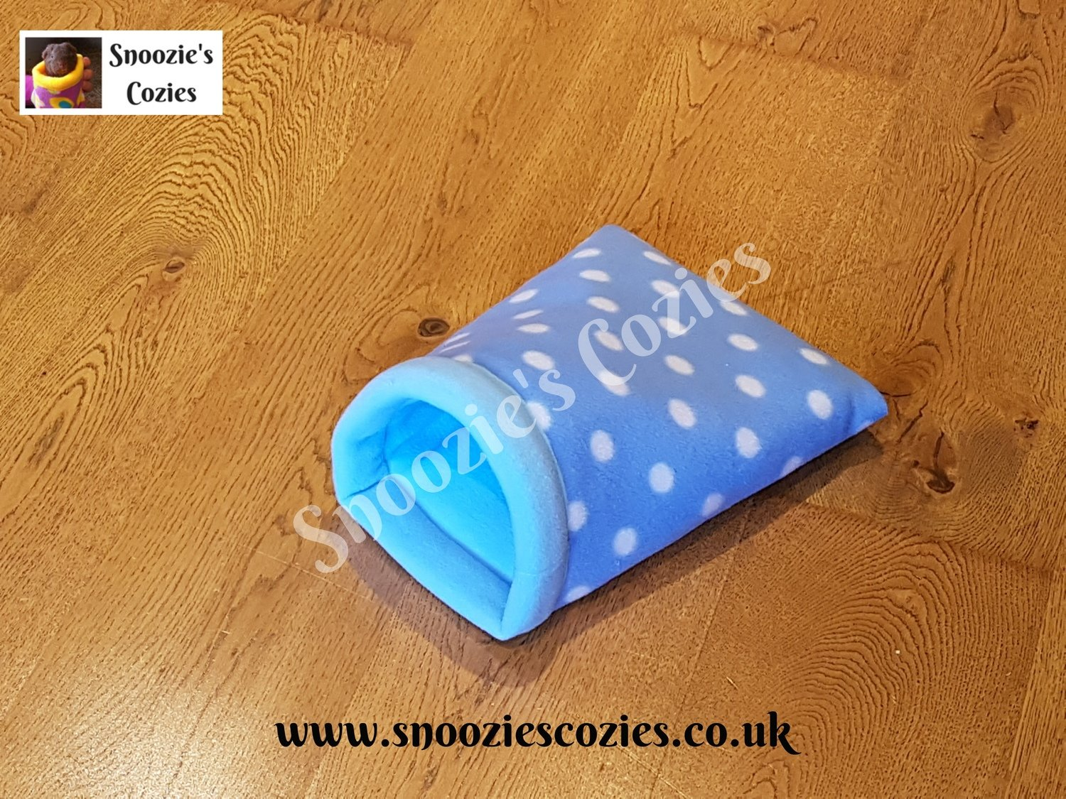 Snoozie Cozie - Turquoise Spot/baby Blue