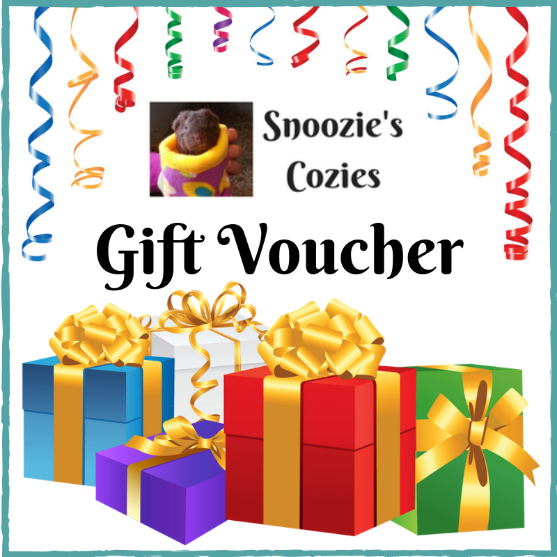 Snoozie's Cozies Gift Voucher