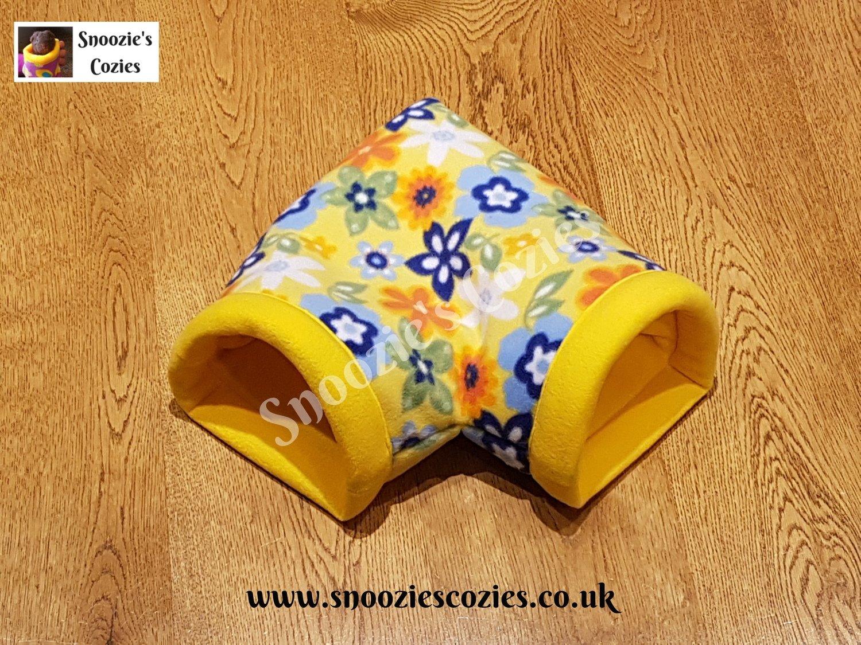 Corner Cozie - Yellow Flowers/Yellow