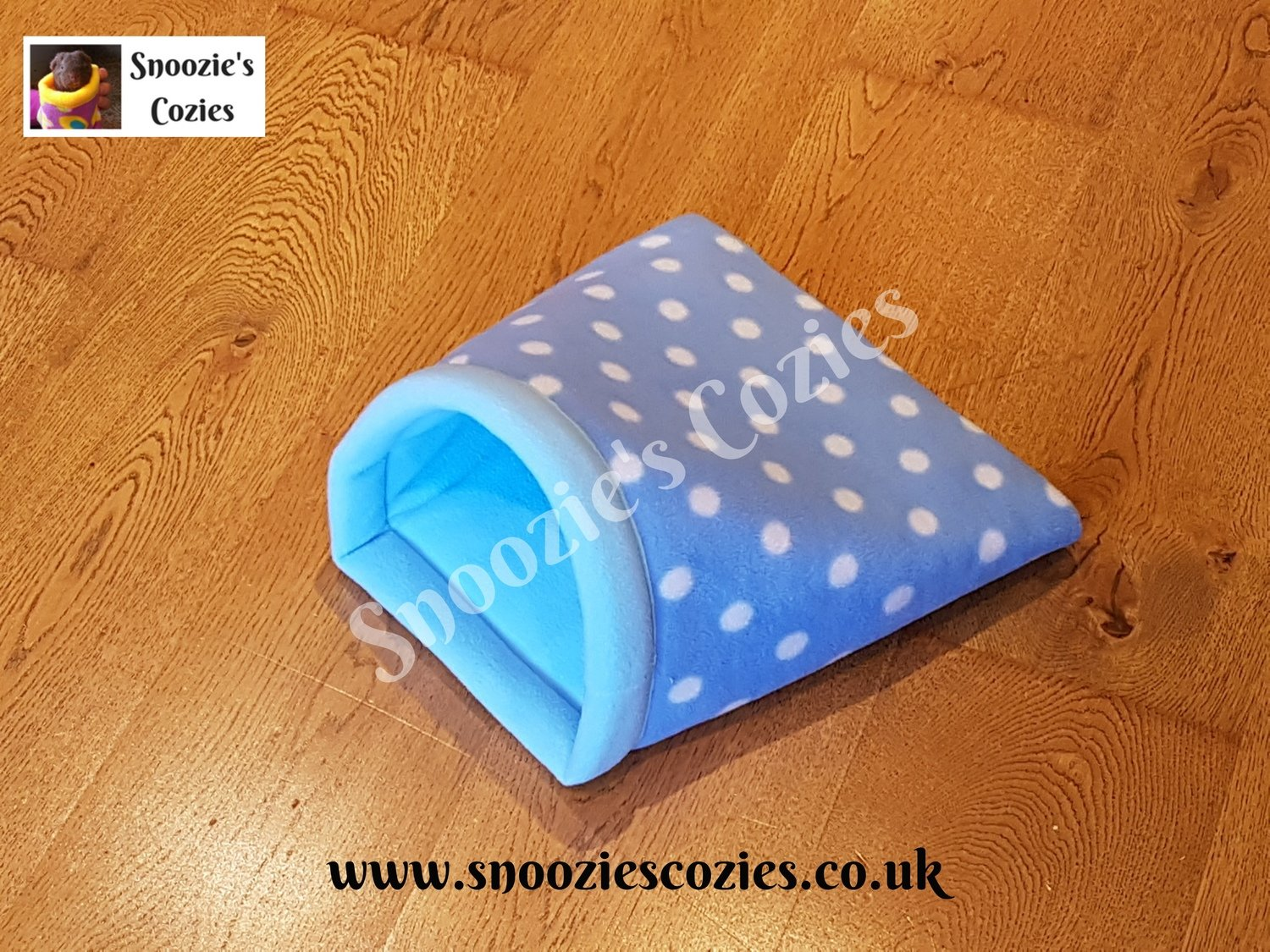 Double Cozie - Turquoise Spot/Baby Blue