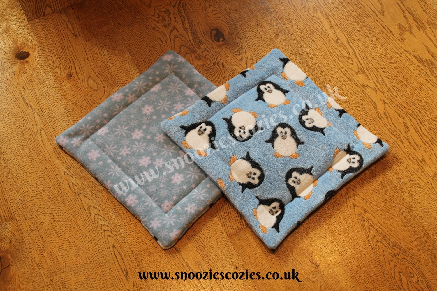 "REVERSIBLE PIGGY PADS (14"" x 14"") Custom Order PAIR"