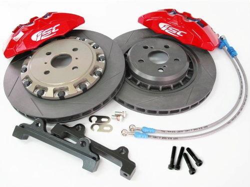 Toyota Yaris 07+ ISC 2 Piece Track Performance Brake Kit