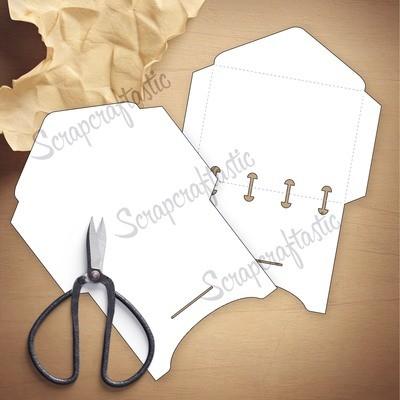 MICRO - 2 Envelope Templates & Cut Files