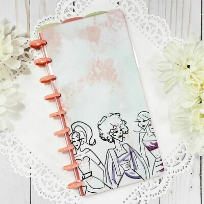 Model Sketch Fauxbonichi Half Sheet Disc Bound Notebook and Planner