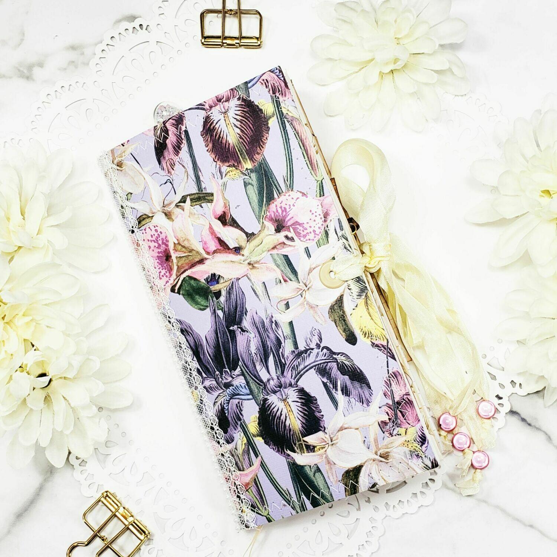 French Iris Standard Traveler's Notebook Size Junk Journal