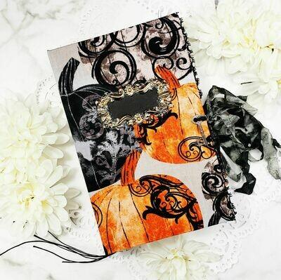 All Hallows Eve Handmade Junk Journal