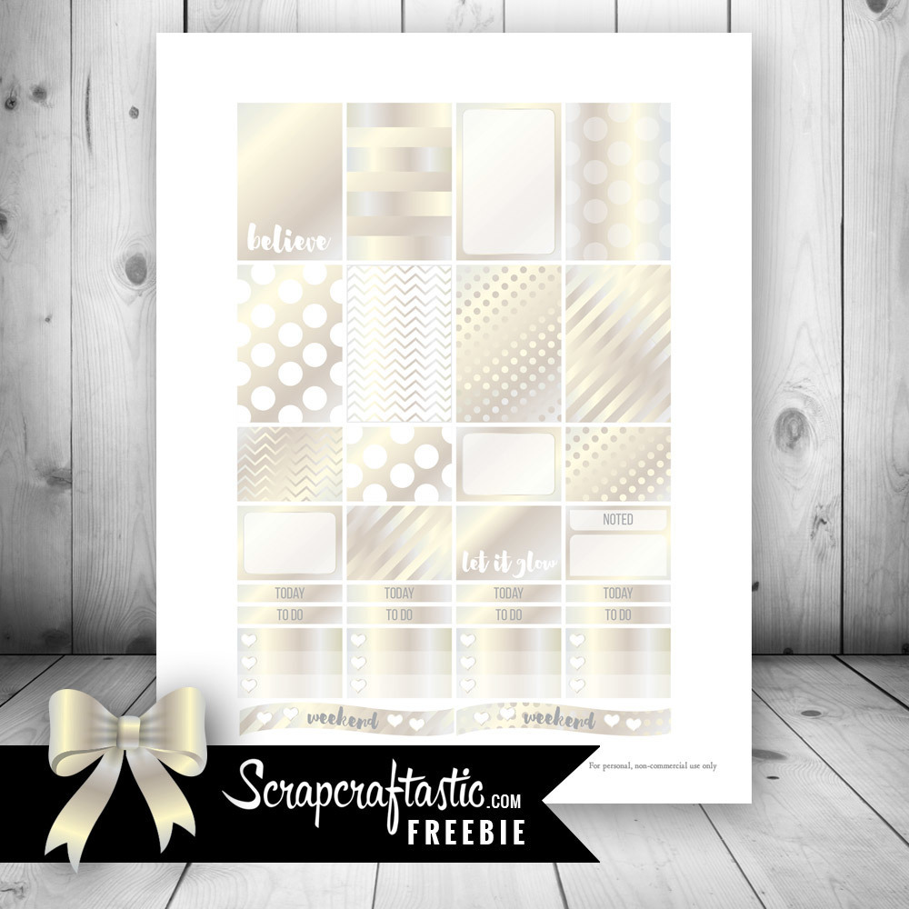 Champagne Free Printable Planner Stickers dbr_champagne_free