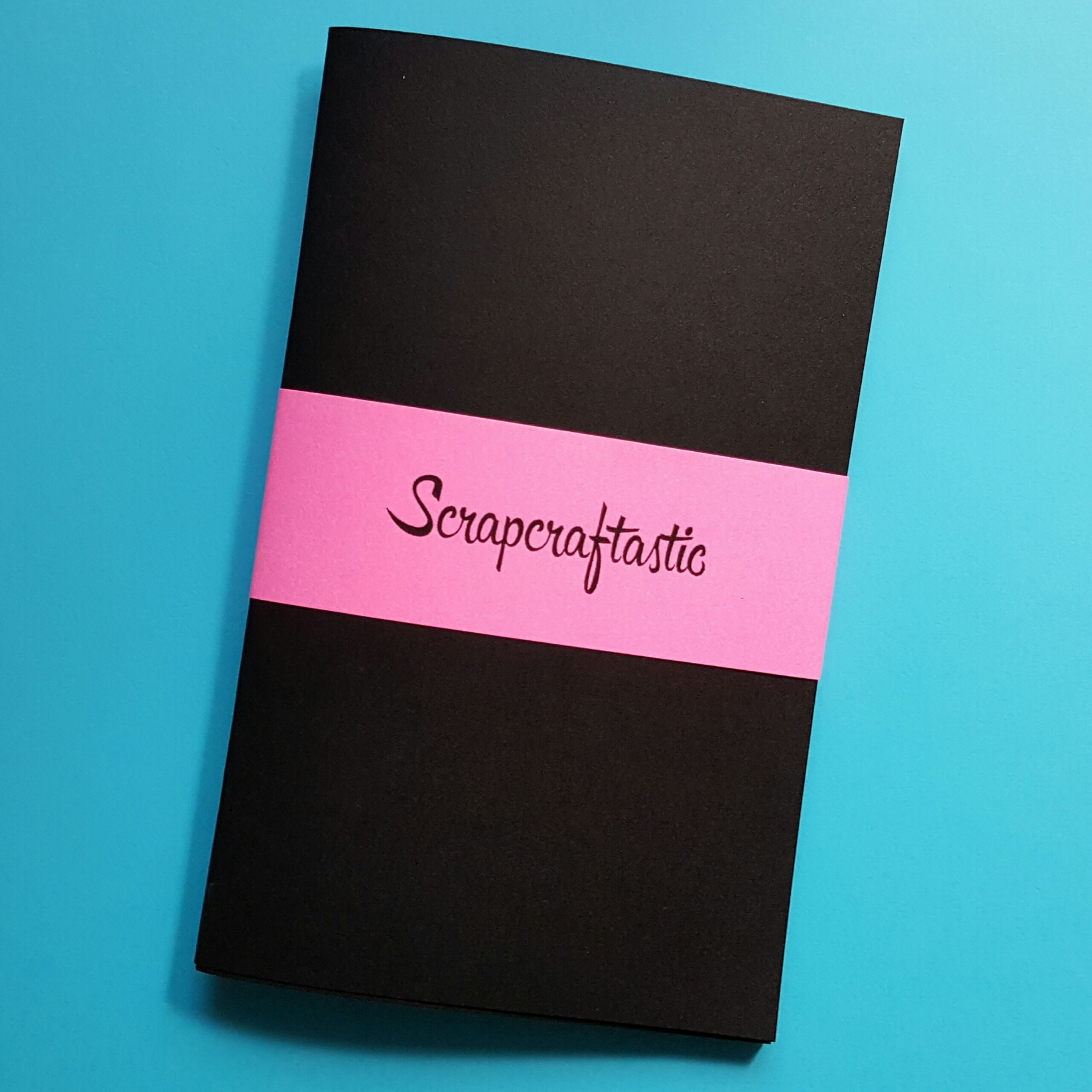 Black Pocket Size Midori Style Traveler's Notebook Insert 00701