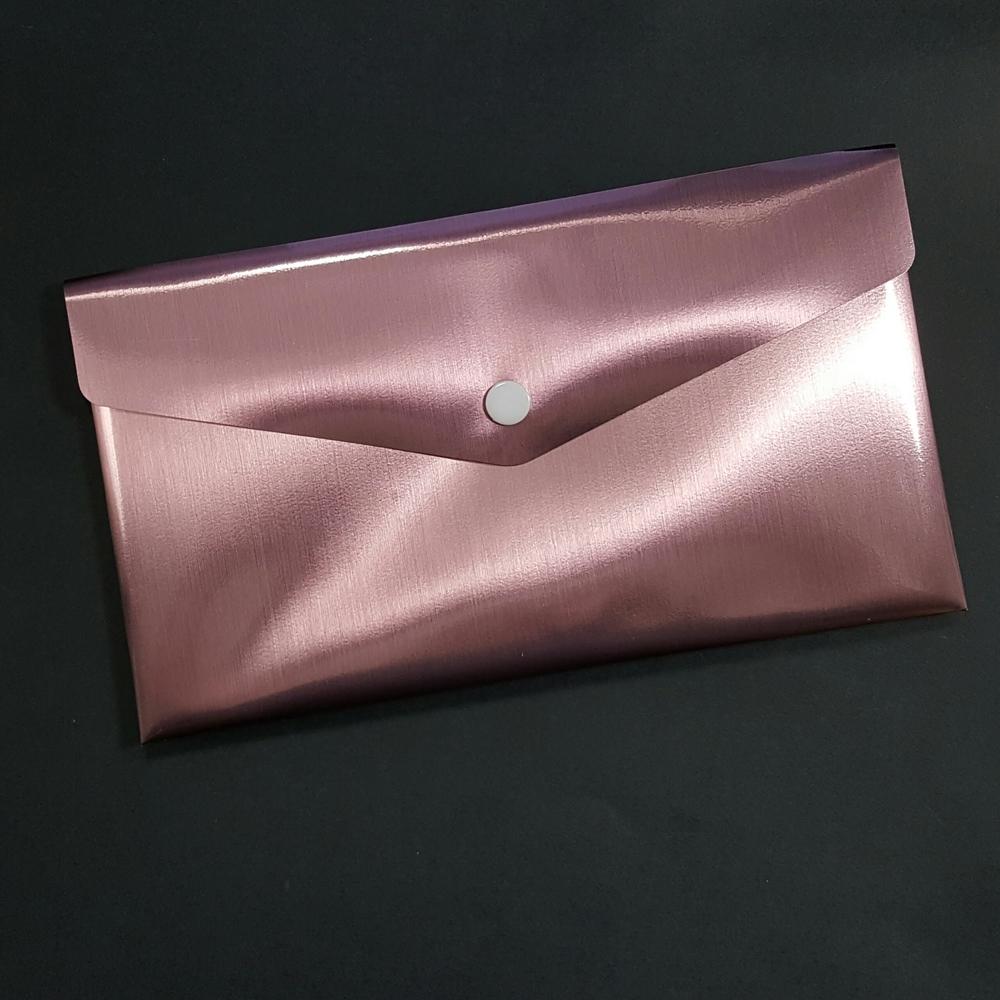 Metallic Rose Poly Envelope 06001