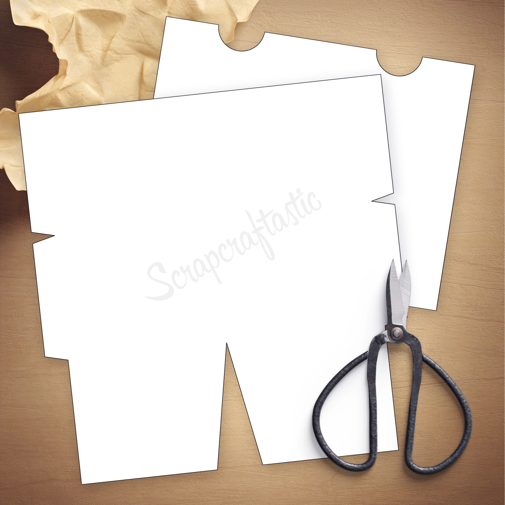 Folder Insert Template for Pocket Size Traveler's Notebook 07000