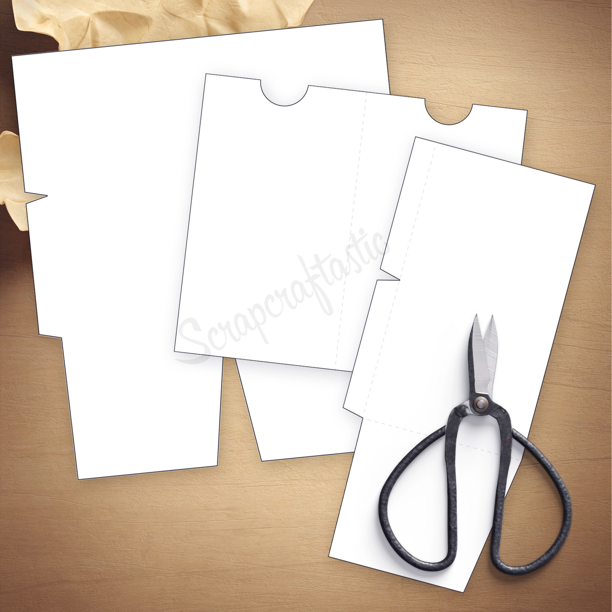 Folder Insert Template for B6 Size Traveler's Notebook 07007