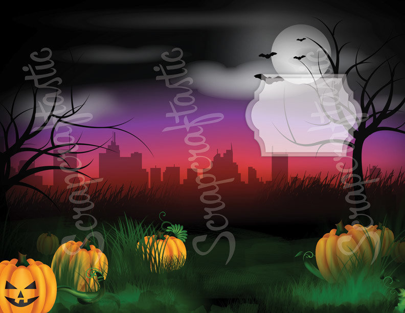 Halloween Traveler's Notebook Insert Cover Printable Set