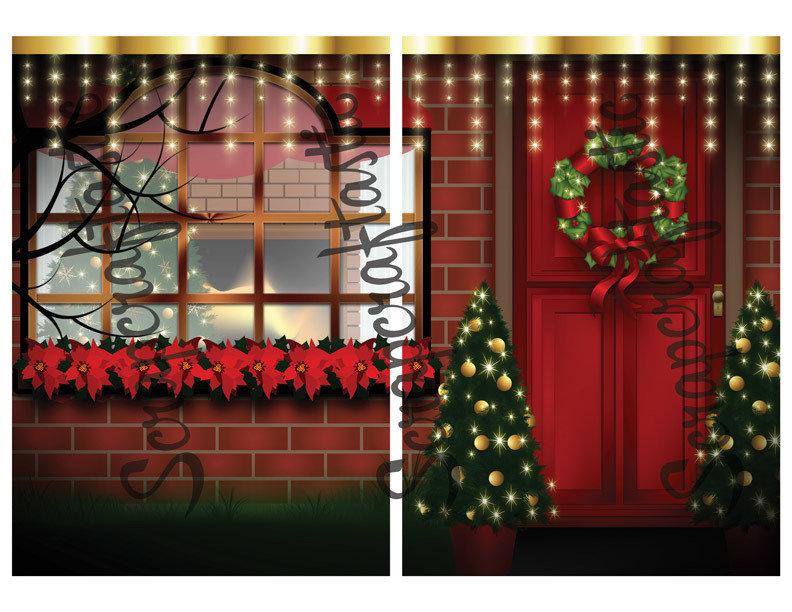 Christmas Digital Illustration B6 Printable Dashboard