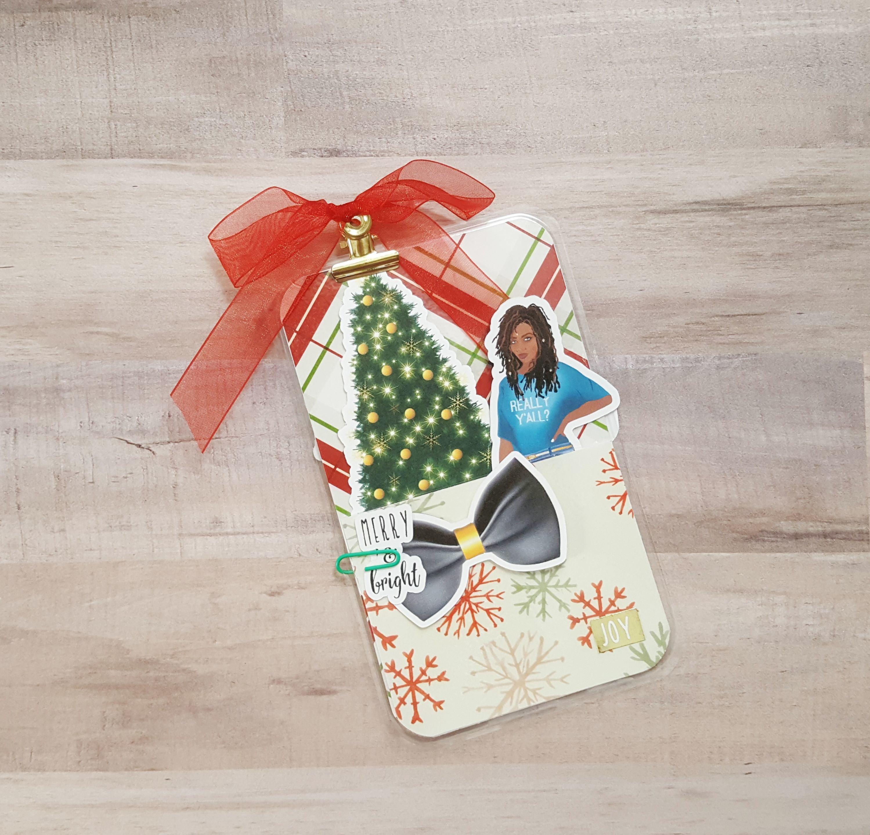 Joy Holiday Cheer Pocket Size Loaded Page Marker 20171105-01