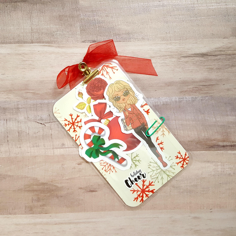 Joy Holiday Cheer Pocket Size Loaded Page Marker