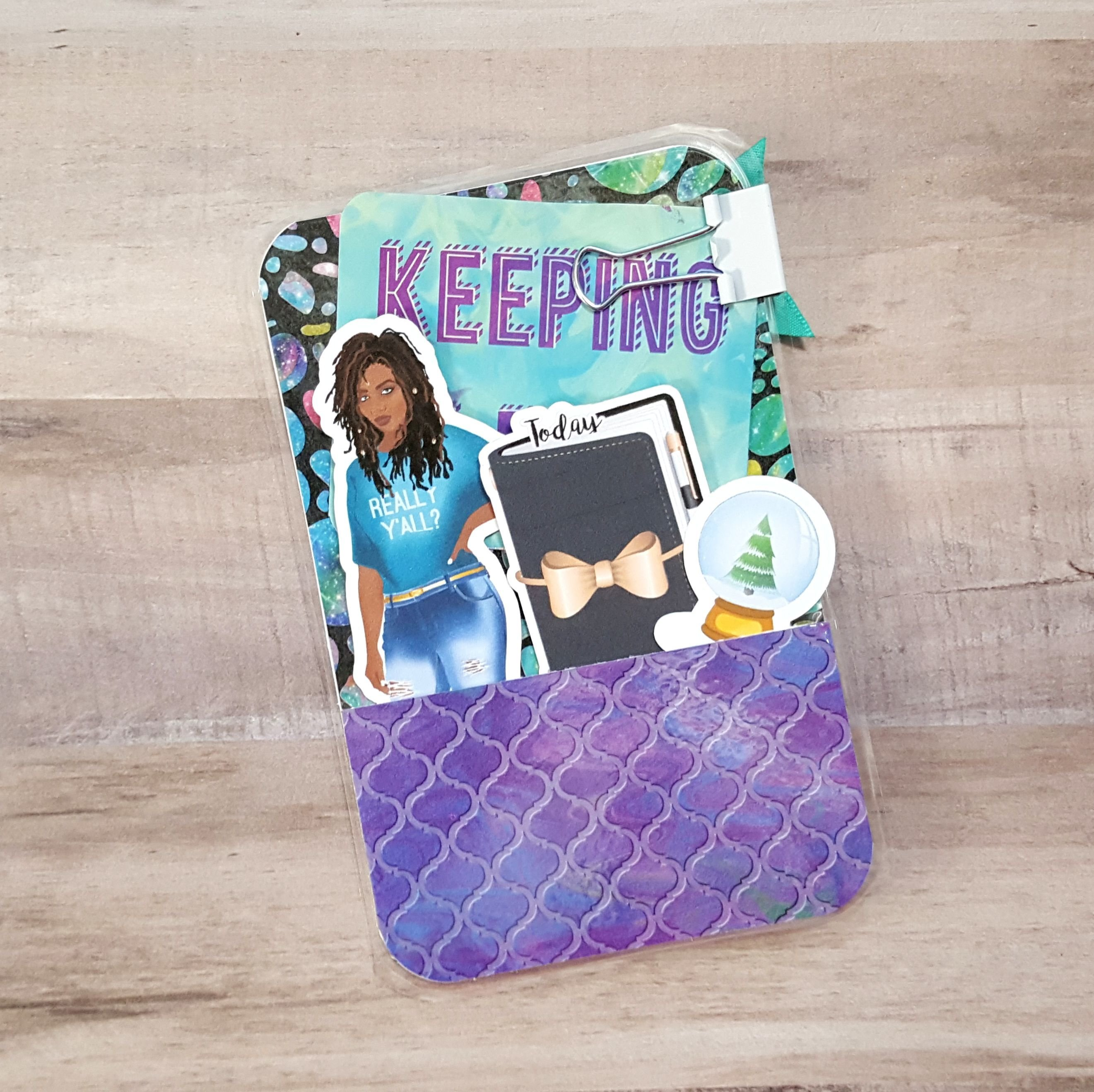 Keeping It Real Pocket Size Loaded Page Marker 20171111-07