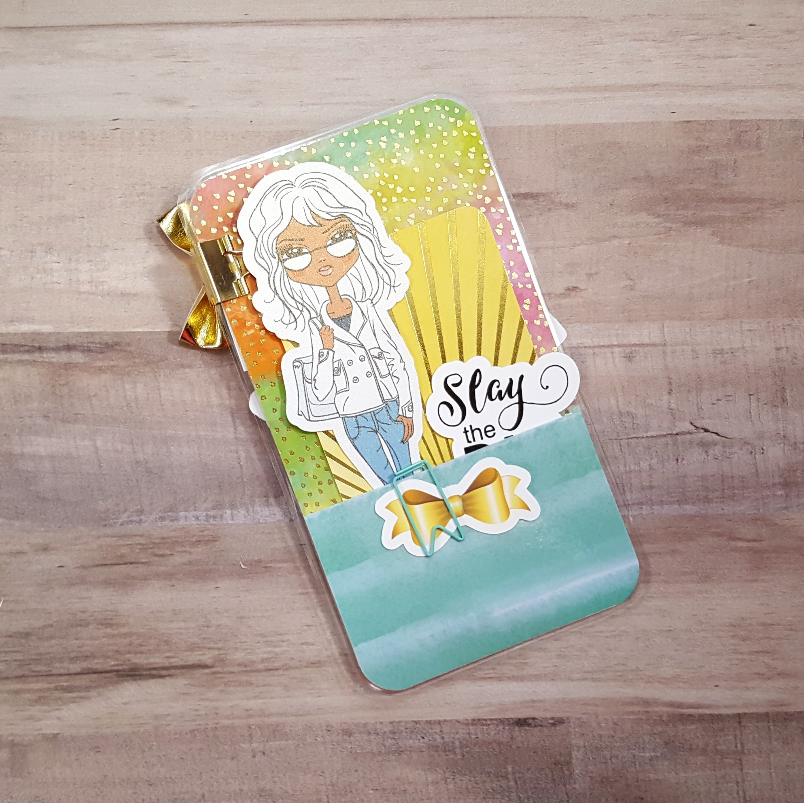 Tropical Slay Personal Size Loaded Page Marker