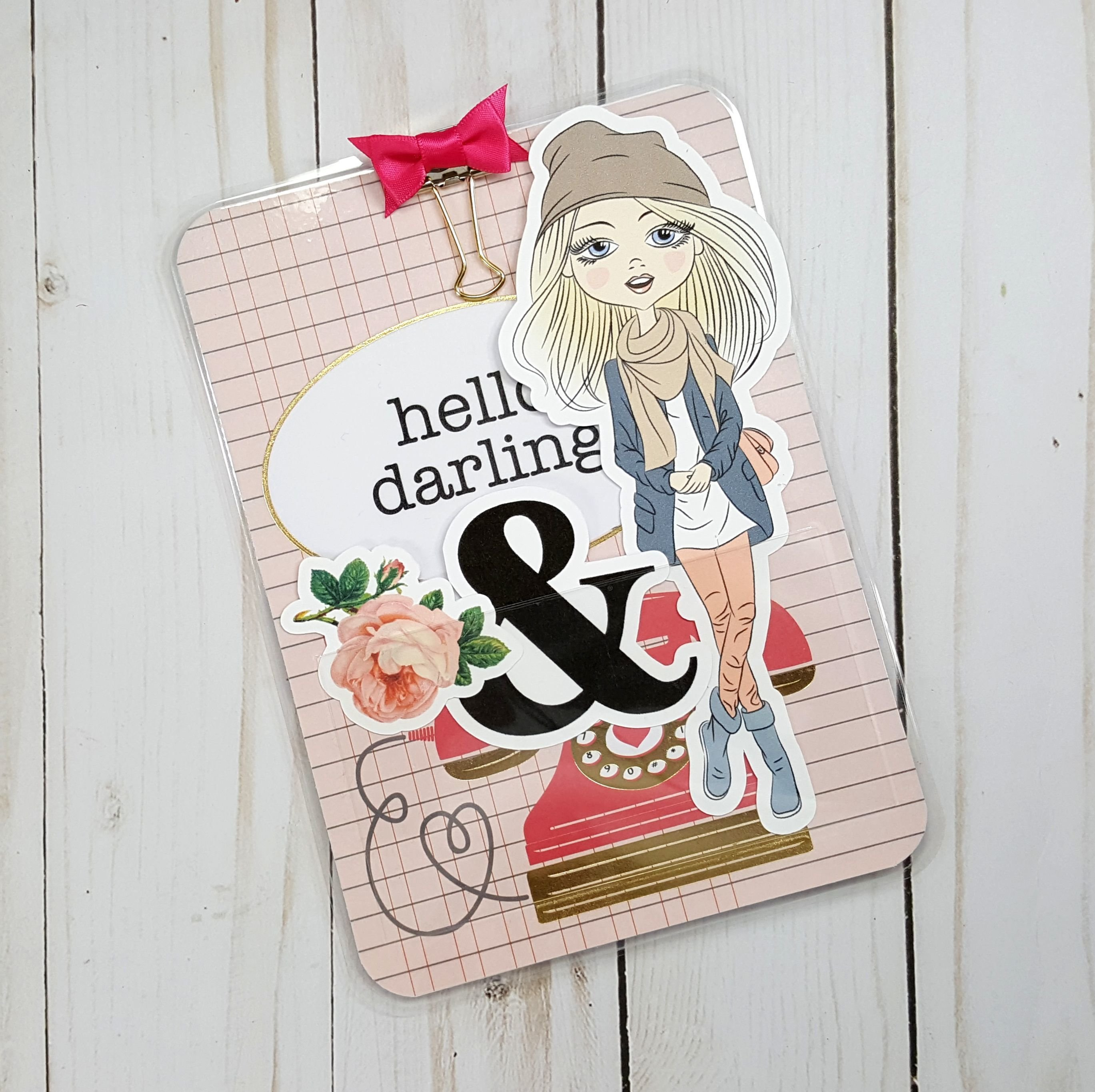 Hello Darling B6 Loaded Page Marker 20171113-01