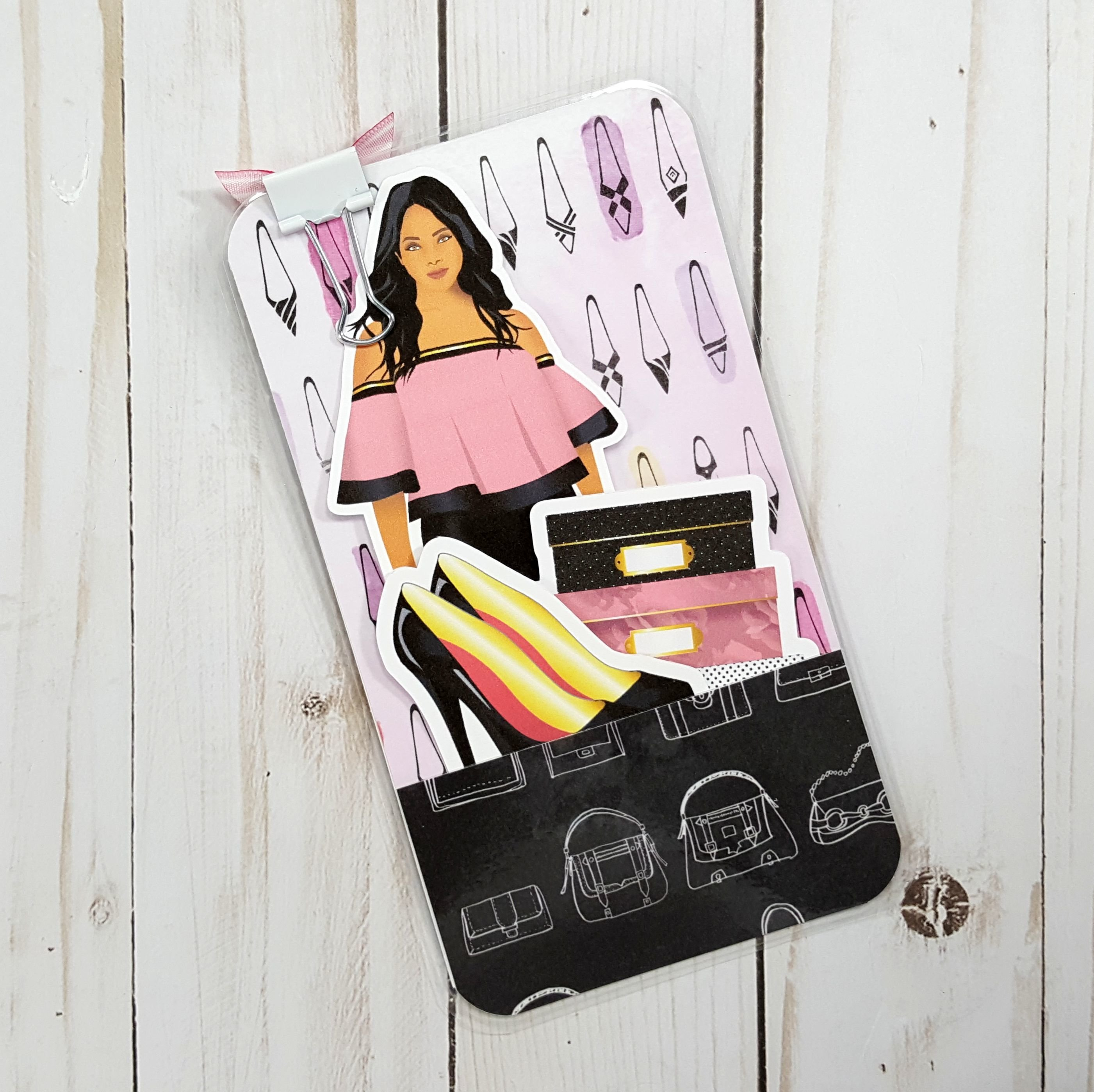 Purse & Shoes Personal Size Loaded Page Marker