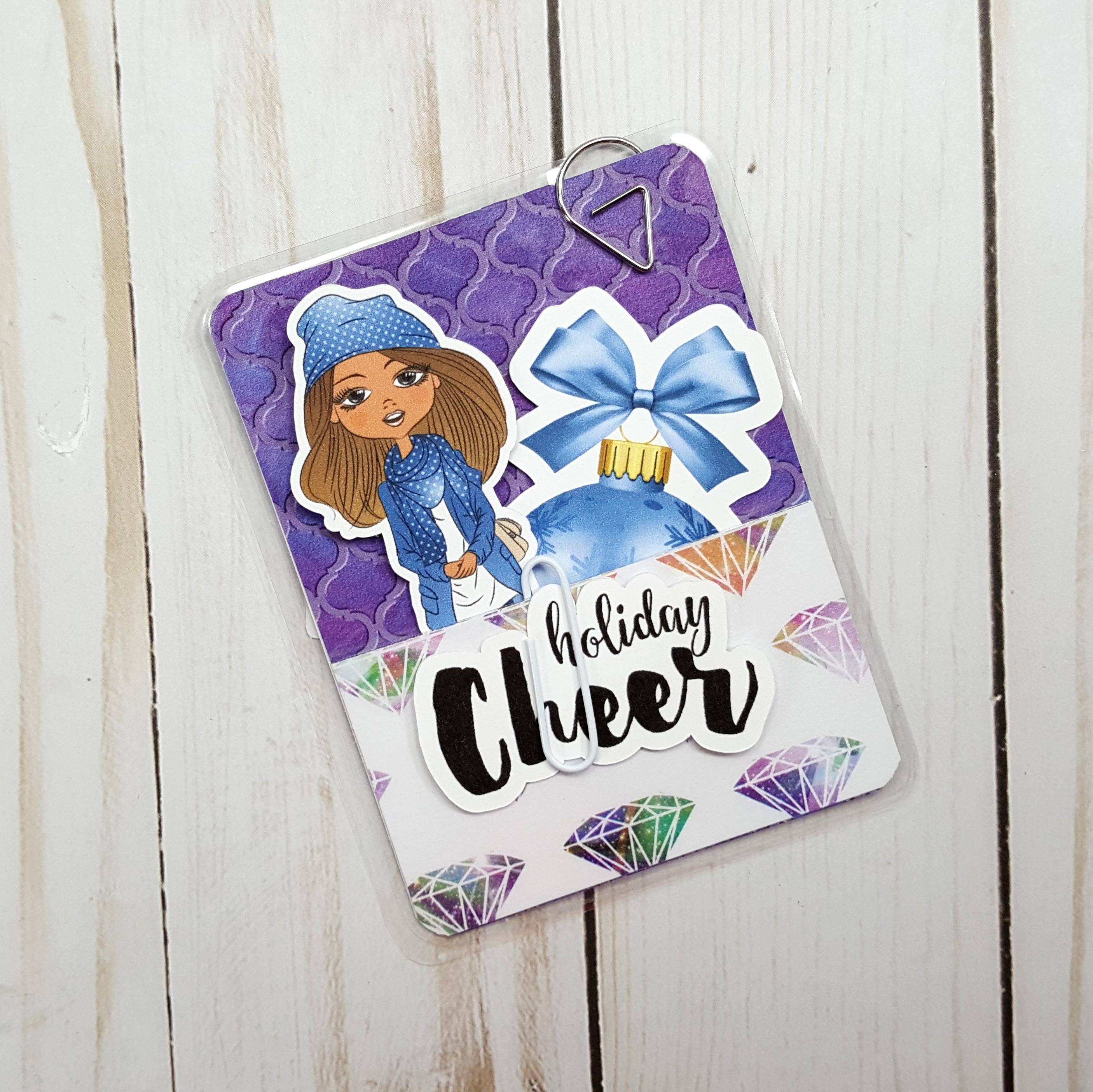 Holiday Cheer Diamond Micro Size Loaded Page Marker 20171125-01