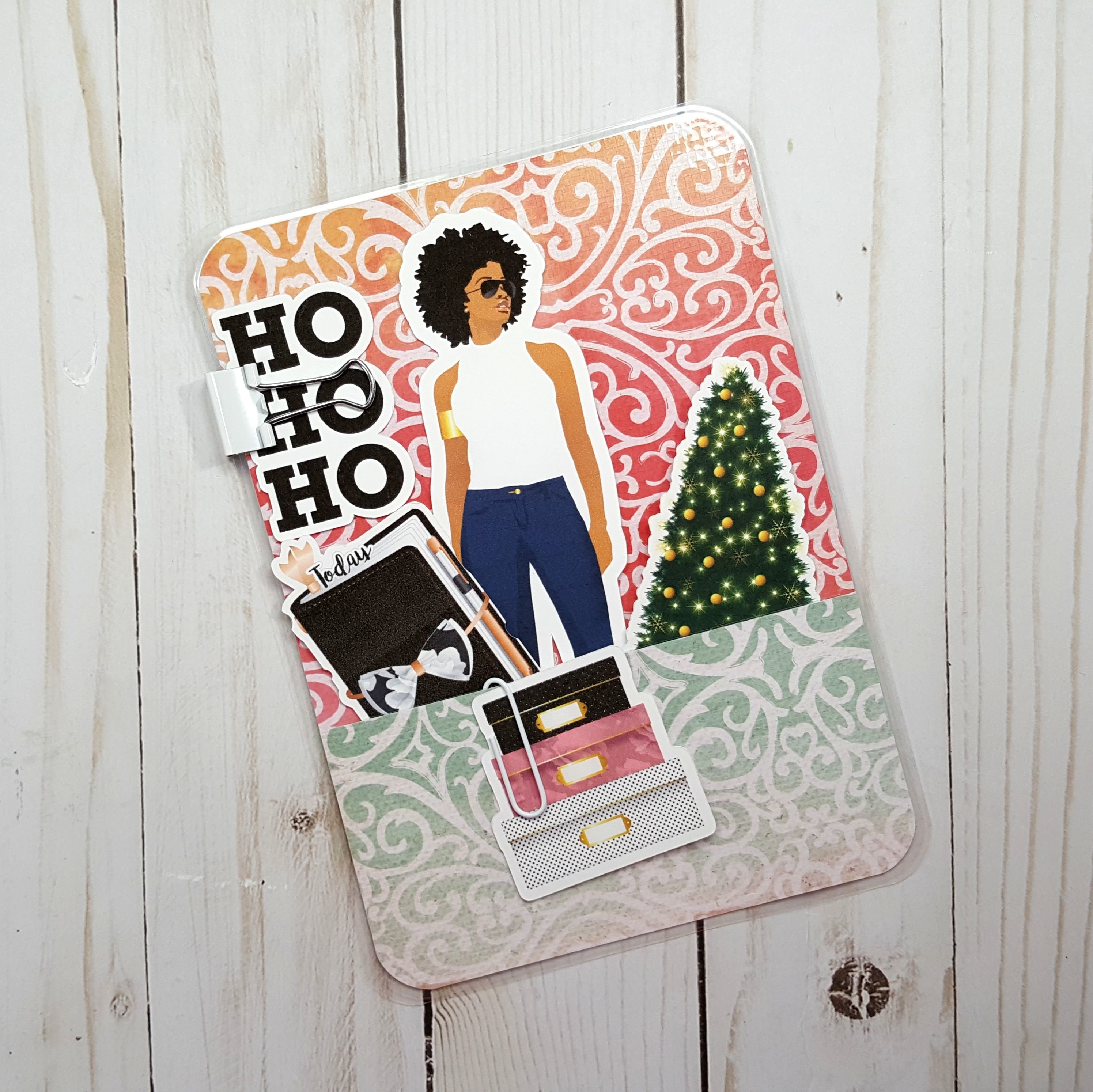 Keepin' It Classy Holiday B6 Loaded Page Marker