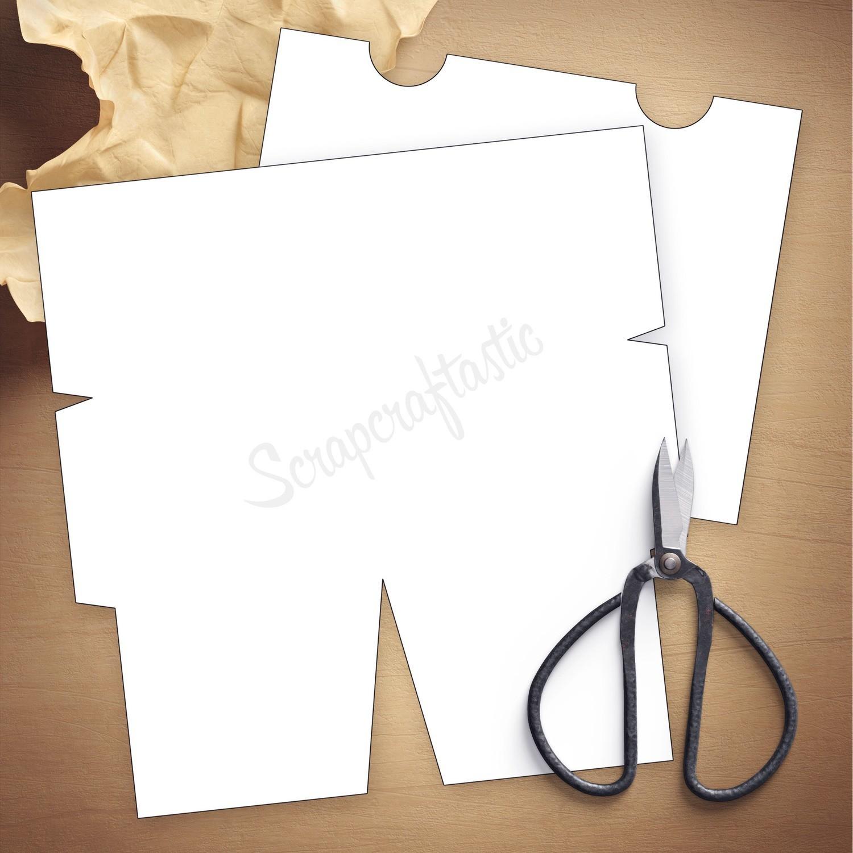 Folder Insert Template for Pocket Size Traveler's Notebook