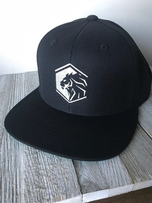 Black & white - Flat brim