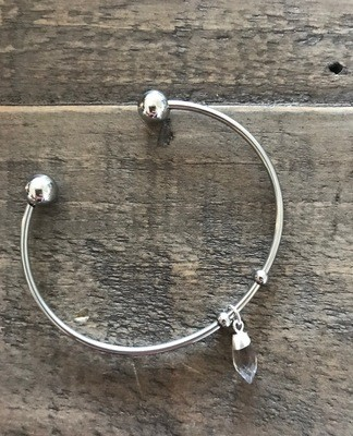 the 'Kate' bangle - silver