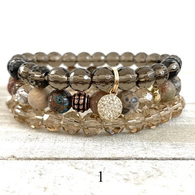 Mixed bracelet sets