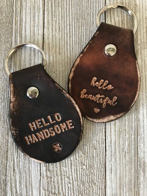 Couples key chains