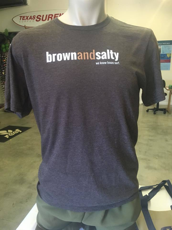 2d1c83431 Brown and Salty MENS T-Shirt