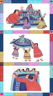 Abby's Reflection | Alaska Wildlife Fabric & Alaska Quilt Kits