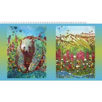 Abby's Reflection | Alaska Wildlife Fabric & Alaska Quilt Kits