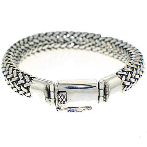 Men's Braided Stainless Bracelet