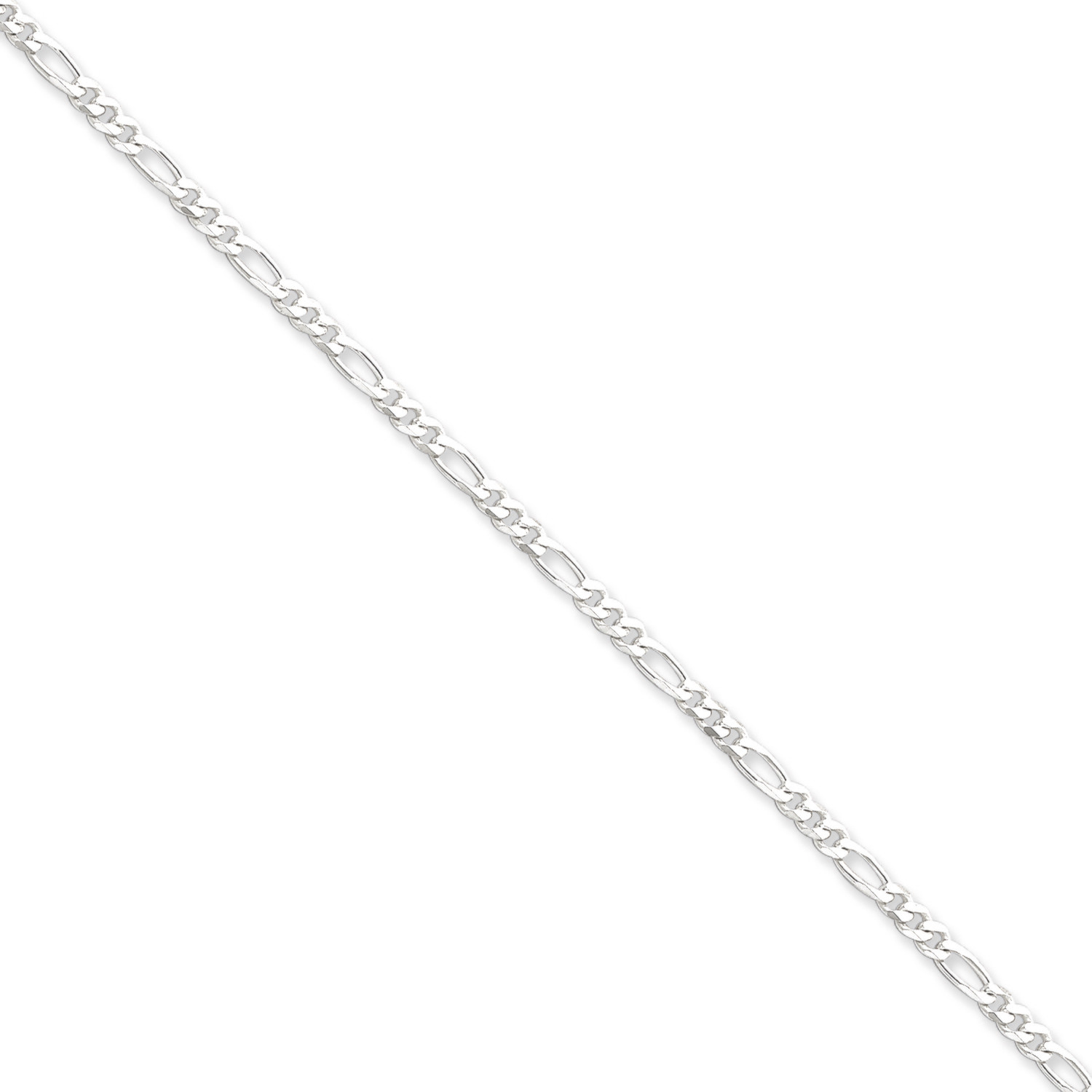 3MM Silver Figaro Link Chain