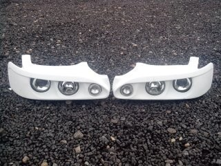 Sport headlights for TOYOTA Levin/Trueno AE111 from Fiberglass