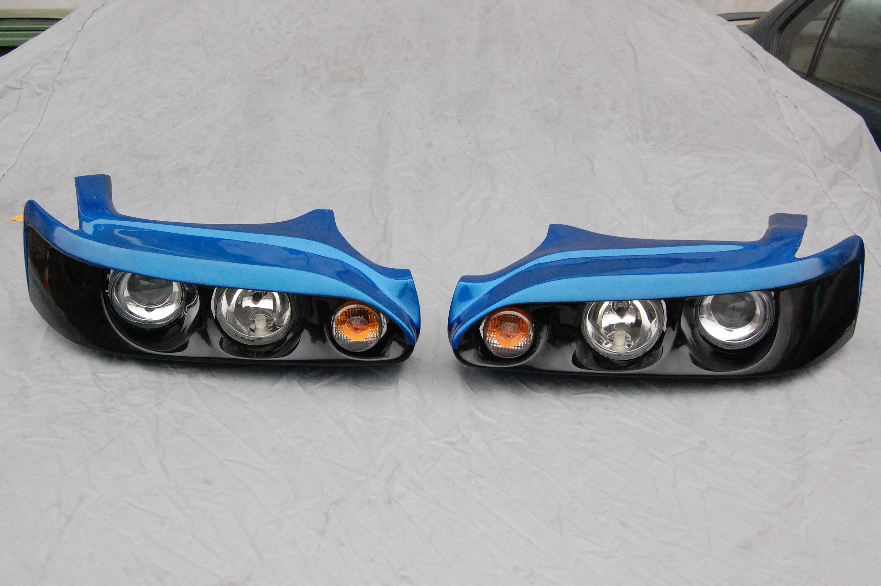 Sport headlights for TOYOTA Levin/Trueno AE111 from Carbon Fiber