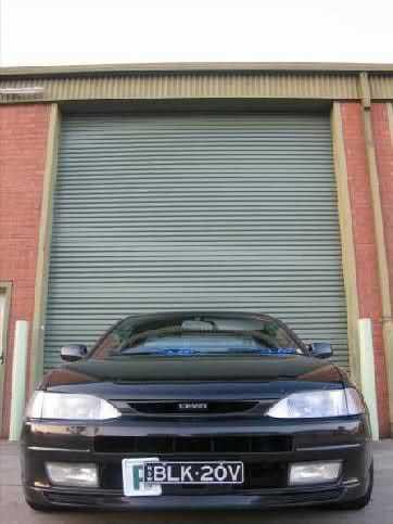 Front lip for TOYOTA Levin AE111, pre facelift, BZR, BZG, BZV, XZ, FZ  from Fiberglass