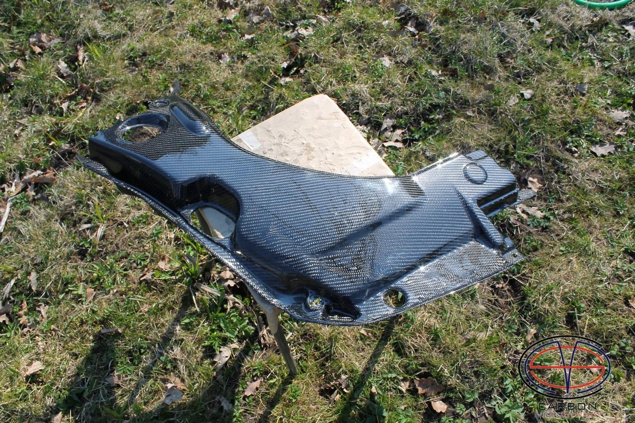 Manufacturing defect - NO RETURN - Engine bay Carbon Fiber panel (big) for TOYOTA Celica  T23 00004
