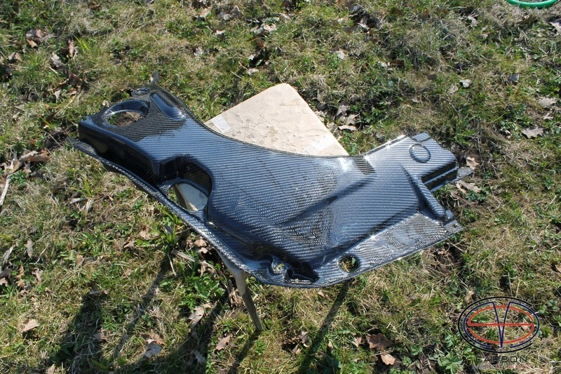 Manufacturing defect - NO RETURN - Engine bay Carbon Fiber panel (big) for TOYOTA Celica  T23