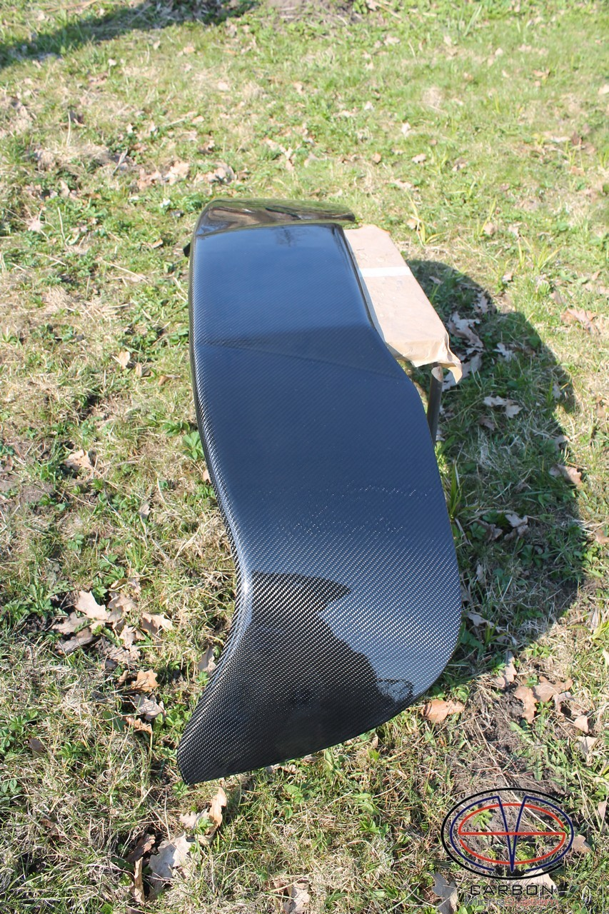 Manufacturing defect - NO RETURN - Rear roof Spoiler from Carbon Fiber for TOYOTA Celica ST 182, ST 183, ST 185 GT4 00005