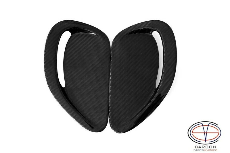 Inserts in hood from Carbon fiber for TOYOTA Celica ST 182, ST 183, ST 185 GT4