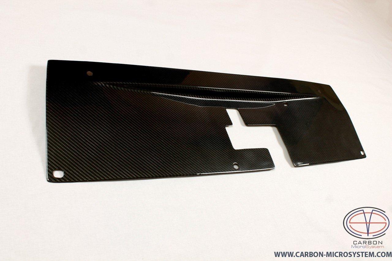 Radiator cooling panel from Carbon Fiber for TOYOTA Celica  ST 162, ST 165 GT4 2017-21