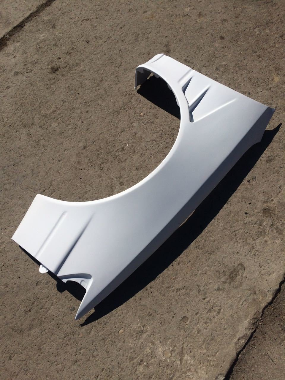 Front wings for TOYOTA