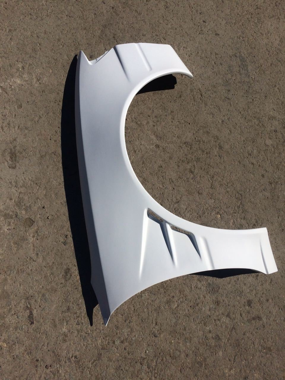 Front wings for TOYOTA Fibreglass