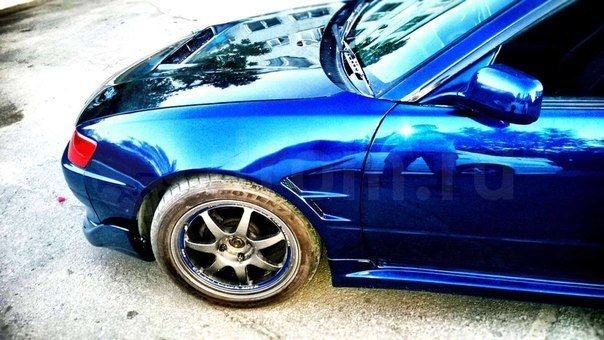 Front wings for TOYOTA Levin AE111 Fibreglass