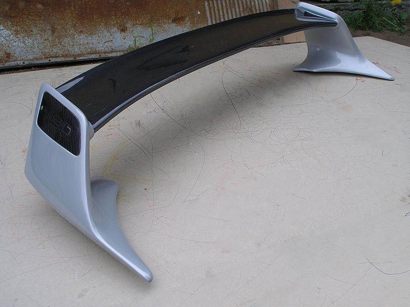 TRD spoiler for TOYOTA Levin/Trueno AE111 - Fibreglass-Carbon